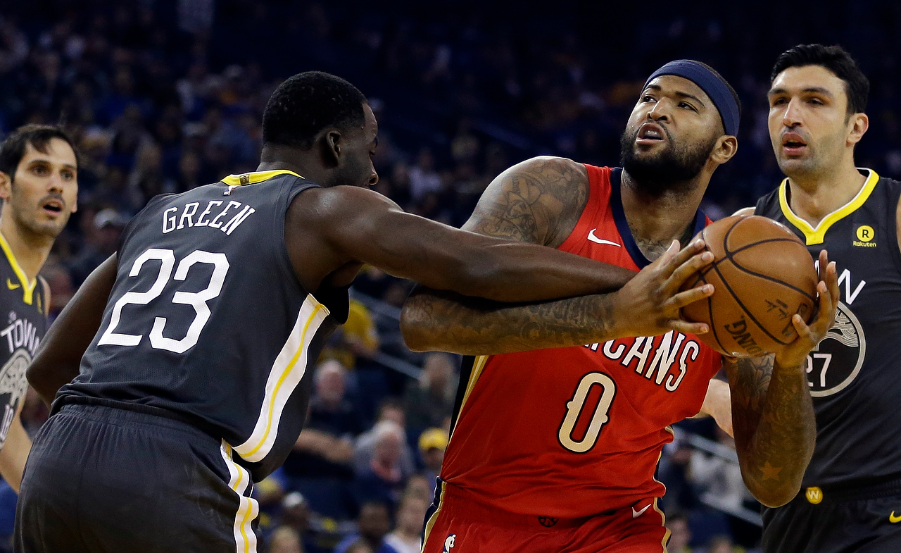 7a675aab6511 DeMarcus Cousins to the Warriors is his chance to be happy